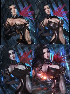 ArtStation - Yu Ran Blade and Soul 유란, Rena Illusion