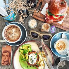 """Birthday breakfast for my @alexeijoel at a new favourite near Uni  happy Halloween, kids @cuckoocallay_cafe"""
