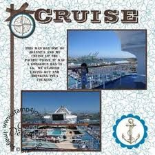 cruise scrapbook page layouts - Google Search