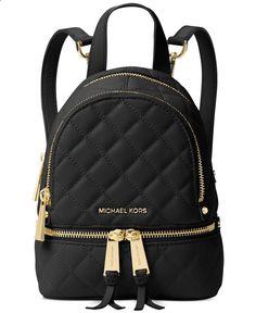 MICHAEL Michael Kors Rhea Zip Mini Messenger Backpack   macys.com
