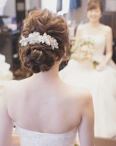 #WEDDING #hairstyles #beautiful #updo #ウェディング #ヘアスタイル #sposa #bride #mariee #novia #bridalhairarrange #I can see your happy smile **************************** * * #ブライダルヘア#ブライダルヘアメイク#ヘアアレンジ#ヘアセット#ヘアメイク#ヘアスタイル#波ウェーブ#ウェディングヘア#ウェディングドレス#トリートドレッシング#ウェディング#結婚#結婚式#結婚式準備#プレ花嫁#花嫁#卒花#卒花嫁#結婚準備#2016秋婚#2017秋婚#日本中のプレ花嫁さんと繋がりたい #wedding#bridal#bridalhair#hairarrange#weddingstyle#weddingdress#happywedding * #misacostyle