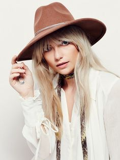 Tanner Chain Band Hat (Free People)