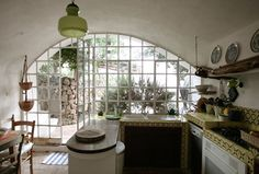 LOVE this window in the kitchen.