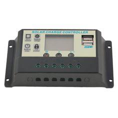 Hot Selling! 10A 12V 24V Solar Panel Battery Charge Controller