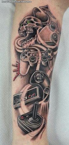 Tatuaje de / Tattoo by: fidotattoo | #tatuajes #tattoos #ink