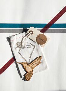Image of Hummingbird necklace Hummingbird Necklace, Necklaces, Bags, Handbags, Chain, Taschen, Collar Necklace, Purse, Wedding Necklaces