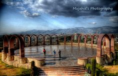 Islooo - In my dream  missing home, missing Islamabad and the images are hazy :)  Pakistan Monument, Islamabad Pakistan
