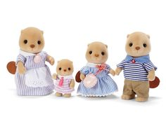 Sea Otter Family|Calico Critters