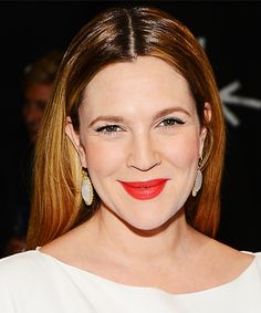 Beautiful Makeup| Serafini Amelia| Trend to Try: Orange Lips - Drew Barrymore from #InStyle