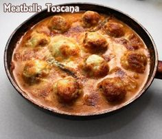 Meatballs Toscana Recipe from Grandmother's Kitchen