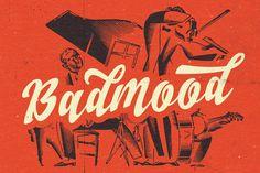 Badmood by artimasa on Creative Market