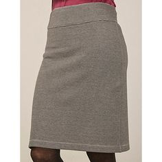 Buy White Stuff Valley Lane Reversible Jersey Skirt, Grey from our Women's Skirts range at John Lewis & Partners. Reversible Skirt, Jersey Skirt, White Stuff, Weekend Style, Gray Skirt, Slim, Casual, Skirts, Skirt