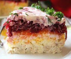 Салат из свёклы «Генерал» - Простые рецепты Овкусе.ру