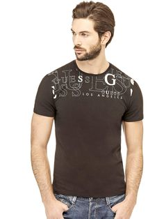 T-SHIRT WITH PRINT ON THE FRONT | GUESS.eu