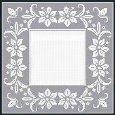Mojalbum - foto album in oglasnik Crochet Edging Patterns, Crochet Lace Edging, Filet Crochet, Crochet Doilies, Parchment Craft, Crochet Tablecloth, Crochet Bunny, Cross Stitch Designs, Frame