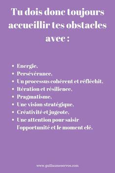 Positive Mind, Positive Attitude, Developement Personnel, Formation Management, Challenge Me, No Way, Good Advice, Positive Affirmations, Obstacles
