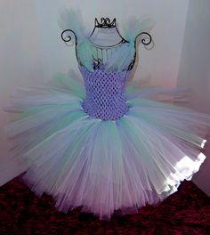 Lav/Mint/White tutu tulle dress  divabows@yahoo.com