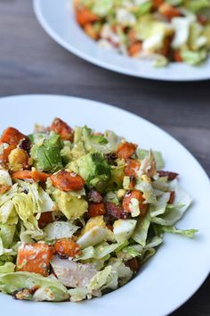 Cucumber, Tomato & Avocado Salad by Among the Colors Pureed Food Recipes, Veggie Recipes, Salad Recipes, Cooking Recipes, Healthy Recipes, Healthy Salads, Healthy Eating, Avocado Salad, Tomato Salad