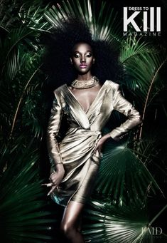 Jungle Fever in Dress To Kill Magazine with Herieth Paul