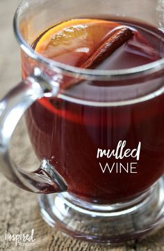 Mulled Wine (with ingredients I can actually obtain without visiting a specialty store) inspiredbycharm.com