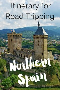 Planning a road trip through Northern Spain? This guide has all the stops and tips you need to have an amazing trip along the Northern Spain coast!  #spain #northernspain #spaintravel #travelspain norther Spain travel, northern Spain itinerary, northern Spain basque country, northern Spain road trip