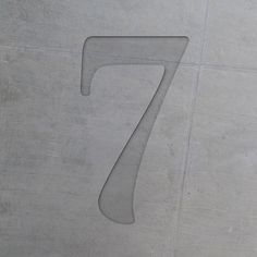 concrete number seven