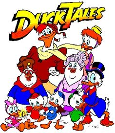 """I loved the themesong...""""Ducktales, Woohoo!"""""""