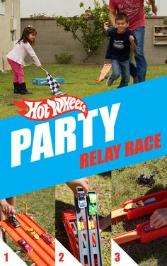 Get ready to rumble! In this exhilarating Hot Wheels party game, kids and… Car Themed Parties, Cars Birthday Parties, Birthday Party Games, Birthday Fun, Birthday Ideas, Hot Wheels Birthday, Hot Wheels Party, Sleepover Party, Car Party