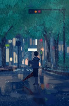 Uploaded by Find images and videos about cute, beauty and art on We Heart It - the app to get lost in what you love. Art Anime Fille, Anime Art Girl, Animes Wallpapers, Cute Wallpapers, Aesthetic Art, Aesthetic Anime, Yuumei Art, Anime Triste, Fantasy Art