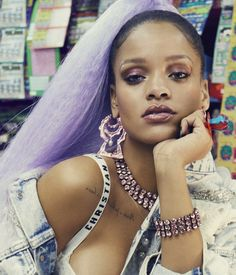 Rihanna for Paper Magazine *close up