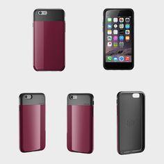 Lunatik FLAK dark raspberry case for iPhone 6  http://soundzdirect.com/lunatik-flak-iphone-6-case-dark-raspberry/