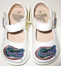 Gator Baby Shoes