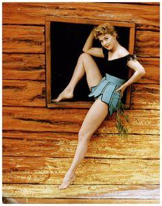 pantyhose donna pic wearing douglas