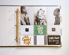 Project Life 2015 Title Page by ajarrett28 at @studio_calico