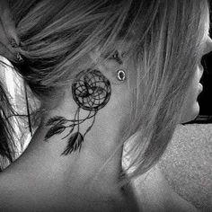 dream catcher tattoo.