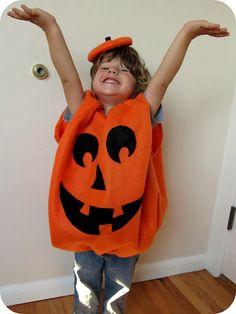 homemade by jill: halloween; pumpkin costume