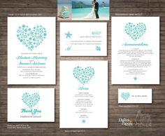 DallinsPaperie ... Bride on a budget or seriously picky? Sally is fantastic, she will help you with how to set up your template to perfection! Printable invites are the way to go!