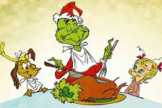 """NBC's annual """"How the Grinch Stole Christmas"""" special won the primetime ratings Friday night, while FOX's NCAA coverage came second. O Grinch, Dr Seuss Grinch, Grinch Christmas Party, Grinch Party, Christmas Cartoons, Christmas Movies, Christmas Classics, Holiday Movies, Charlie Brown Christmas"""