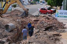 Prefeitura de Boa Vista promove obras patrulha da chuva na rua Agnelo Bitencourt  #pmbv #prefeituraboavista #boavista #roraima #obras #patrulhadachuva