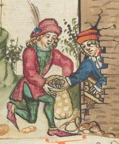 Ms. germ. qu. 12 - Die sieben weisen Meister SchreiberHans <Dirmstein> ErschienenFrankfurt, 1471 Folio 29v