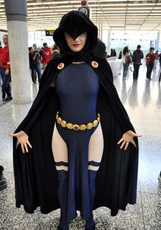 Raven, Montreal Comic Con 2013.