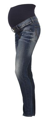 Noppies Skinny Peaches Aged Denim Skinny Maternity Jeans
