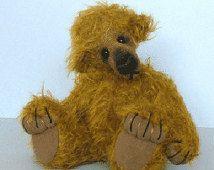 "Teddy Bear Pattern ""Hamish"" by Nioka Bears"