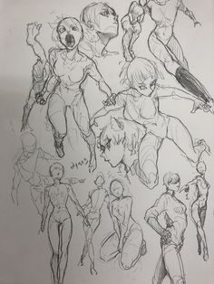 Ideas Design Character Girl Pose Reference For 2019 Figure Drawing Reference, Art Reference Poses, Poses References, Art Poses, Anatomy Art, Anime Sketch, Art Drawings Sketches, Character Drawing, Manga Drawing