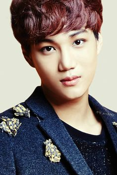 EXO's Kai in IVY Club for Back To School photoshoot.