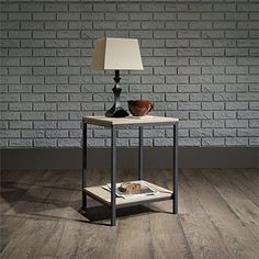 Sauder North Avenue End Table in Charter Oak * Be sure to check out this awesome product.Note:It is affiliate link to Amazon.