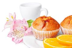 Muffins πορτοκαλιού
