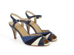 Tycho Sandal Blue Marino by Schmoove Heroine
