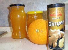 Dýni nakrájíme na kostky. Citrony a pomeranče dobře omyjeme a nakrájíme na půlměsíčky. Vše dáme do vody, přidáme zázvor a vaříme asi 30 minut....