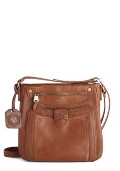 Scenic Lookout Bag. The view from here is stunning, so you reach for the camera in your acorn-hued crossbody bag by the UK-based brand Nica! #brown #modcloth